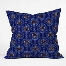 Belle13 Royal Damask Pattern Throw Pillow