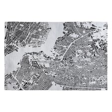 Cityfabric Inc White Brooklyn Novelty Rug