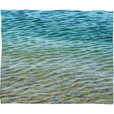 Shannon Clark Ombre Sea Throw Blanket