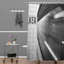 Leonidas Oxby The Subway Extra Long Shower Curtain