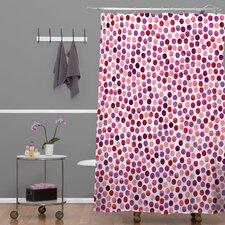 Garima Dhawa Dots Berry Shower Curtain