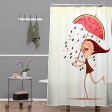 Jose Luis Guerrero Watermelon Shower Curtain