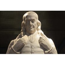 'Benjamin Franklin Statue at National Portrait Gallery' by Billy Hathorn Photographic Print