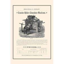 'Granite Roller Chocolate Machines' Vintage Advertisement