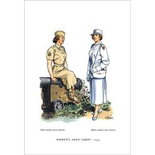 'Women's Army Corps, 1954' Painting Print