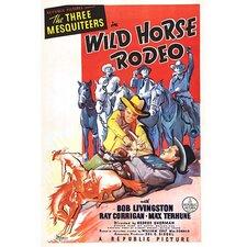 'Wild Horse Rodeo' Vintage Advertisement