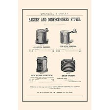'Bakers and Confectioner's Stoves' Vintage Advertisement