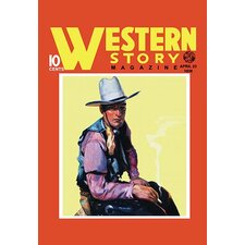 Western Story Magazine: Western Style Vintage Advertisement