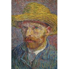 'Self Portrait of Van Gogh' by Vincent Van Gogh Wall Art