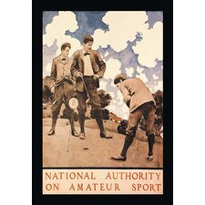National Authority on Amateur Sport by Maxfield Parrish Vintage Advertisement