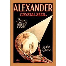 'Alexander the Crystal Seer' by Horrocks and Co Vintage Advertisement