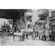 'Elephant and Donkey in Luna Park' by Underwood and Underwood Photographic Print