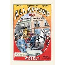 'Roy, The Western Union Telegraph Messenger' Vintage Advertisement