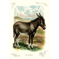 The Donkey Painting Print