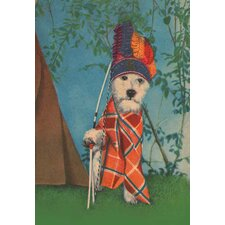 'Indian Dog' Painting Print