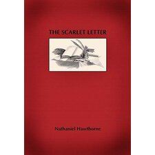 'The Scarlet Letter' by Nathaniel Hawthorne Wall Art