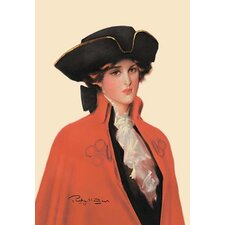'Maiden with the Meek Brown Eyes' Painting Print