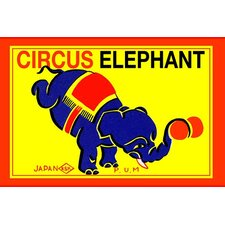 'Circus Elephant' Wall Art