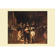 'The Night Watch' by Rembrandt Painting Print