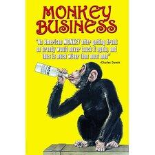 'Monkey Business' by Wilbur Pierce Wall Art