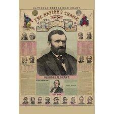 'National Republican Chart' by H. H. Lloyd Wall Art
