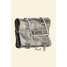 'Knapsack Backpack' Graphic Art