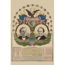 'National Democratic Chart, 1876--For President' by H. H. Lloyd Wall Art