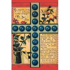 'Ball Blue Puzzle' Wall Art