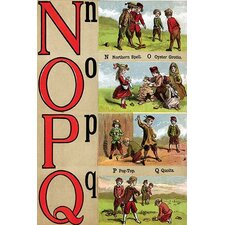 'N, O, P, Q Illustrated Letters' by Edmund Evans Wall Art