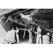 'Ground Crews of American Air Forces' by Farm Security Administration Photographic Print