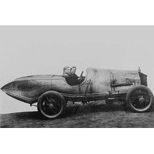 'Space Age Car with Fins in Design Far Ahead' Photographic Print