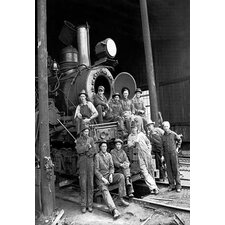 'The Men that Move the Logs' by Darius Kinsey Photographic Print