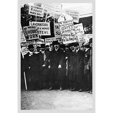 'Clothing Workers Strike' Photographic Print