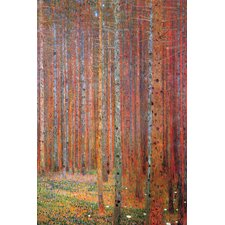Tannenwald by Gustav Klimt Painting Print on Wrapped Canvas