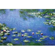 Water Lilies by Claude Monet Painting Print on Wrapped Canvas