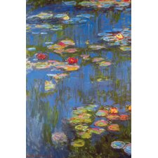 Water Lilies # 3 by Claude Monet Painting Print on Wrapped Canvas
