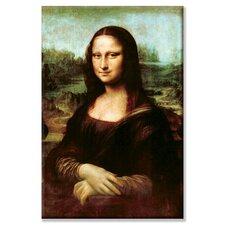 Mona Lisa, La Gioconda Painting Print on Wrapped Canvas