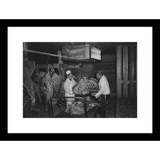 Butcher Shop Framed Photographic Print