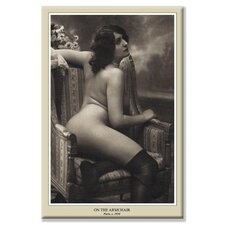 'On the Armchair' Photographic Print on Wrapped Canvas