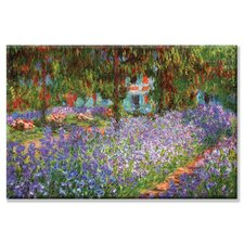 'Luncheon on the Grass' by Claude Monet Painting Print on Wrapped Canvas