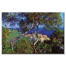 Bordighera by Claude Monet Painting Print on Wrapped Canvas