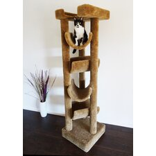 "72"" Premier Solid Wood Cat Tree"