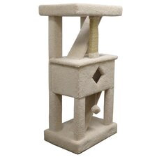 """58"""" Premier Solid Wood Cat Play Gym"""