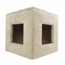 "20"" Premier Pet Hiding Cube Cat Condo"