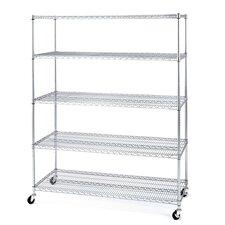 """72"""" H 5 Shelf Shelving Unit"""