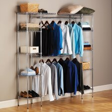 "14"" Deep Heavy Duty Steel Wire Expandable Closet Organizer"