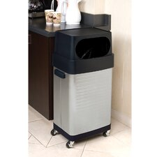 17-Gal UltraHD Commercial Stainless Steel Trash Bin
