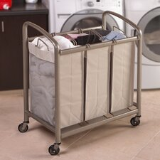 3 Bag Slanted Handle Laundry Sorter