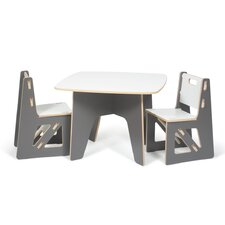 Kids 3 Piece Table Amp Chair Set