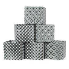6 Piece Ripple Storage Box Set